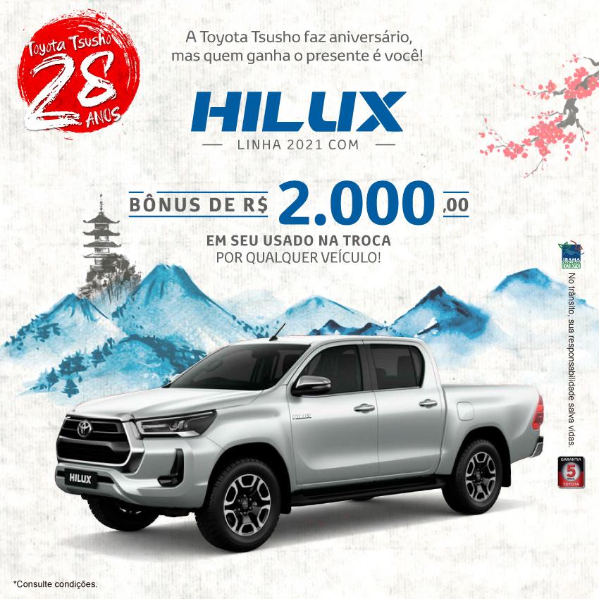 Hilux 2021 - Setembro/21