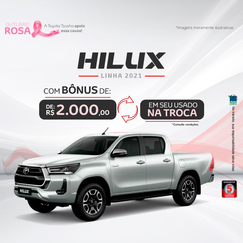 Hilux 2021 - Outubro/21