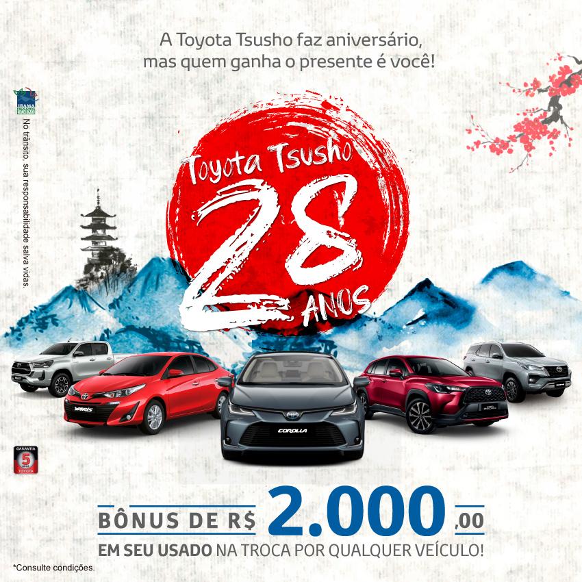Toda Linha Toyota - Setembro/21