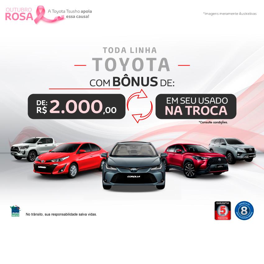 Toda Linha Toyota - Outubro/21